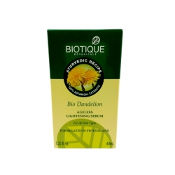 Biotique Bio dandelion Ageless Lightening Serum-40ml